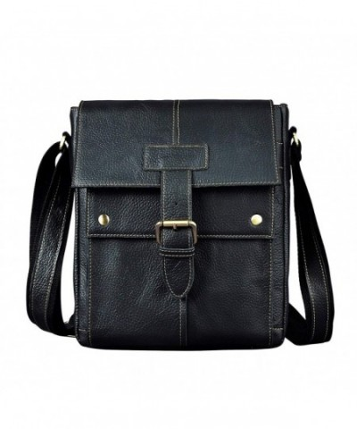 Leaokuu Leather Messenger Shoulder Crossbody