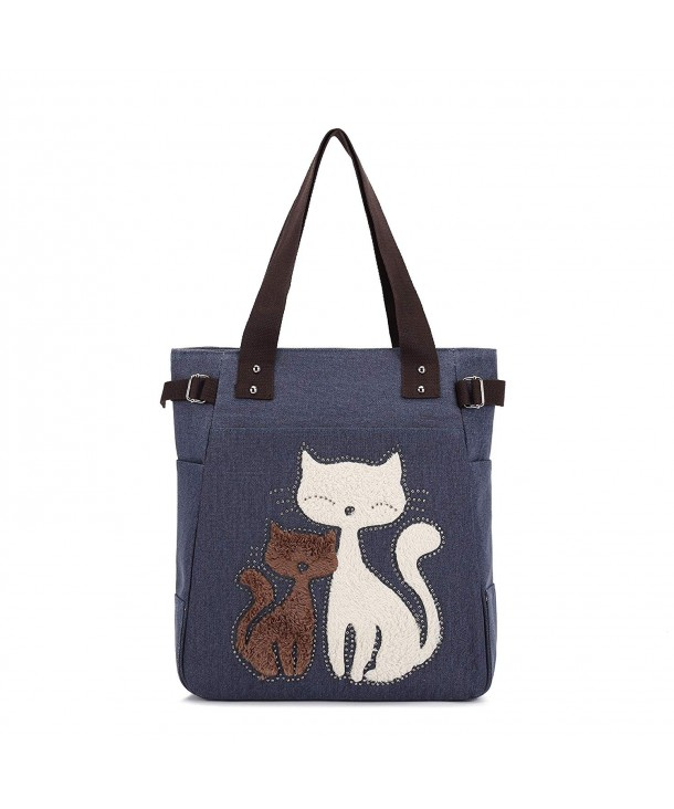 Women Canvas Handbag Kaukko Shoulder
