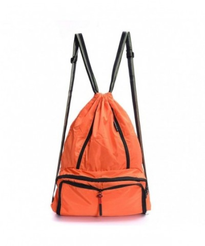 Drawstring Backpack Foldable Sackpack Lightweight