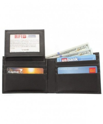 Viosi Blocking Leather Wallet Removable