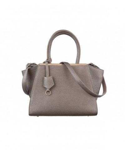 TZECHO Satchel Handbags leather Shoulder