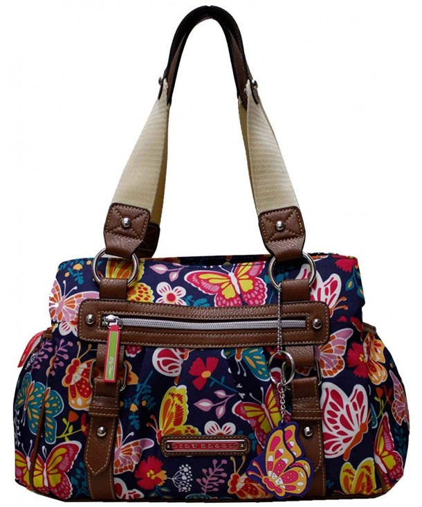Lily Bloom Section Multi Purpose Satchel