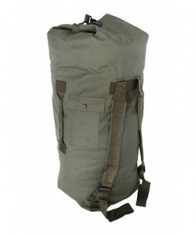 Military Style Double Duffel Duffle