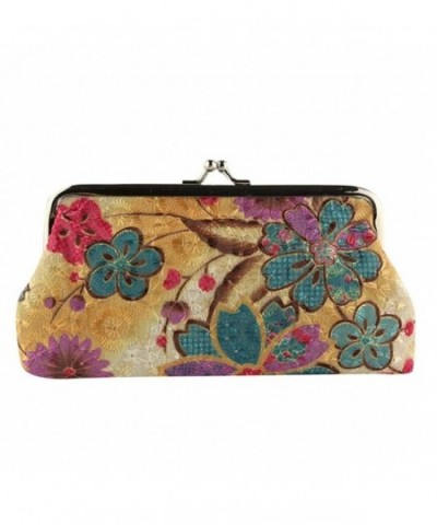 Wallet toraway Vintage Flower Clutch