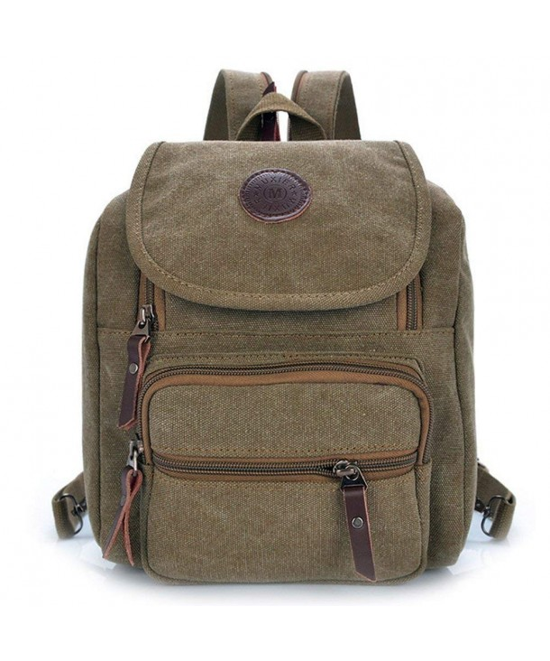 Hiigoo Zipper Pocket Shoulder Backpack