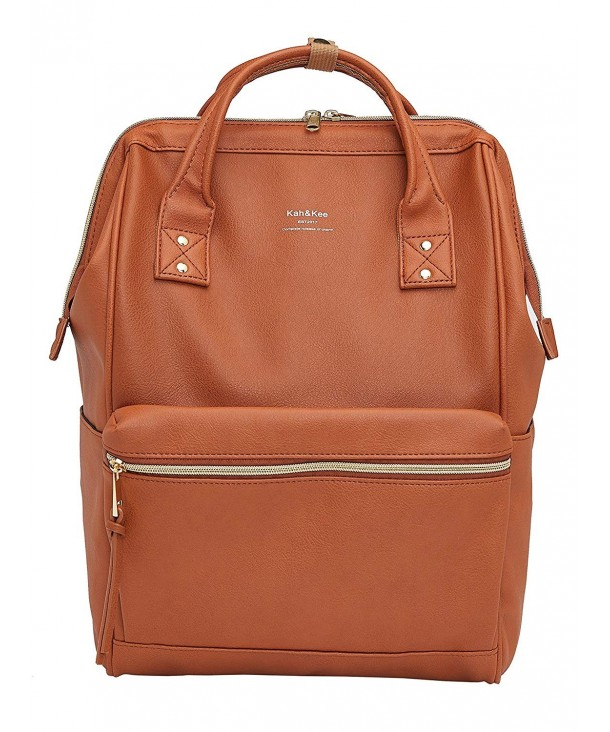 Kah Kee Leather Notebook Backpack